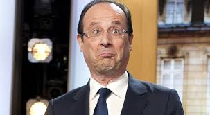 """Hollande nouveau"" et ""a-normal""."