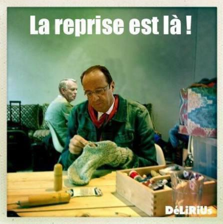 Hollande reprise