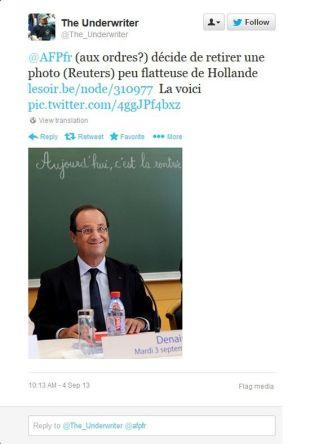 Hollande la rentrée