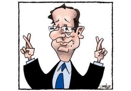 Hollande radieux