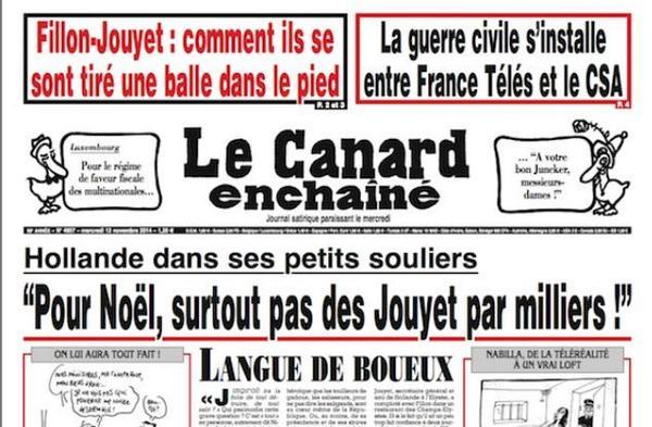 La barbarie du Canard.