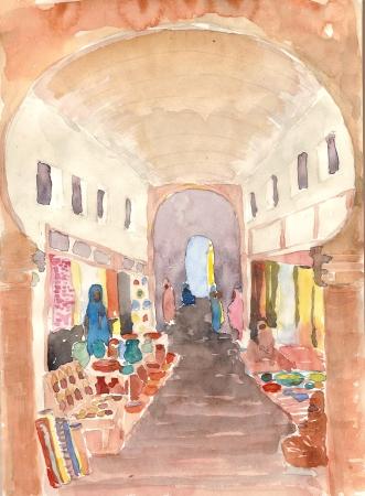 Aquarelles Maroc 023 (2)