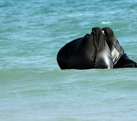 Swimming-Burka