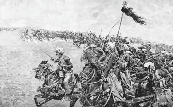 Charge of Mamluks