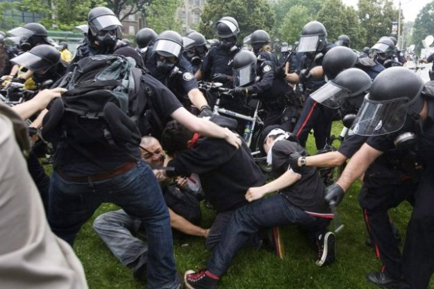 Agressions police