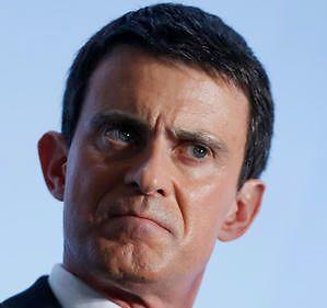 Valls colère