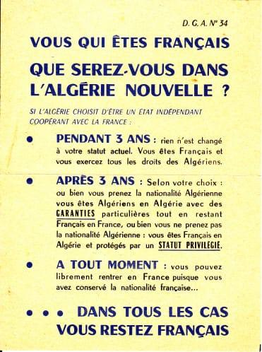 Algériens....