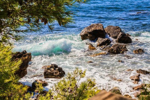 rivage méditerranéen